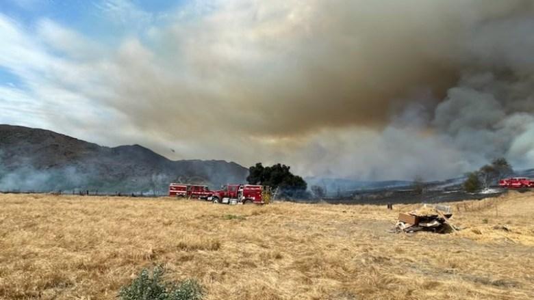 Pala Mesa Fire