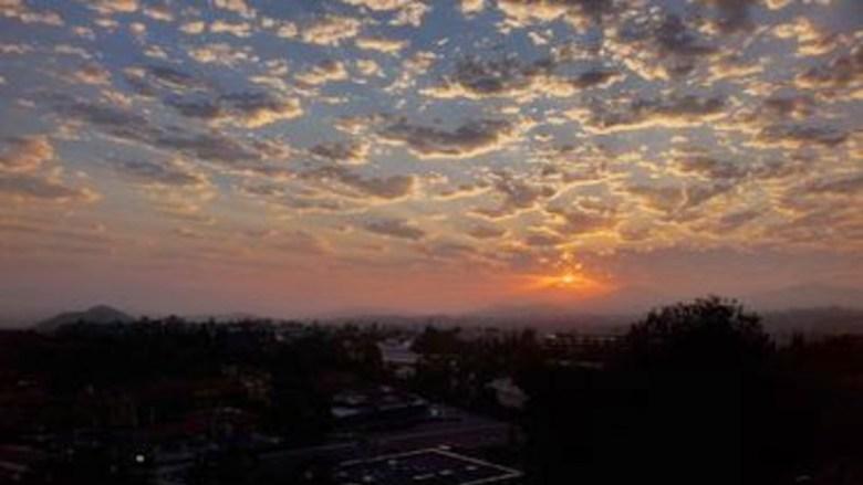 Sunrise over Rancho Bernardo