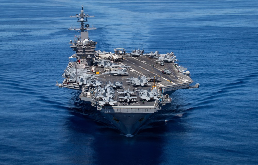 Upgraded USS Carl Vinson Leads Carrier Strike Group 1 in Training Off Hawaii
