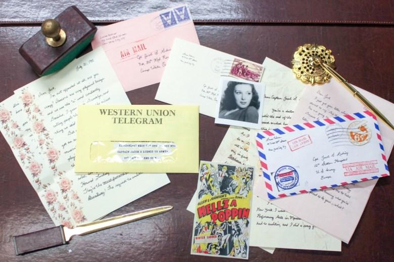 "Mailed items from ""Dear Jack, Dear Louise"""