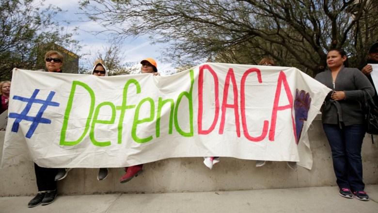 Defend DACA protest