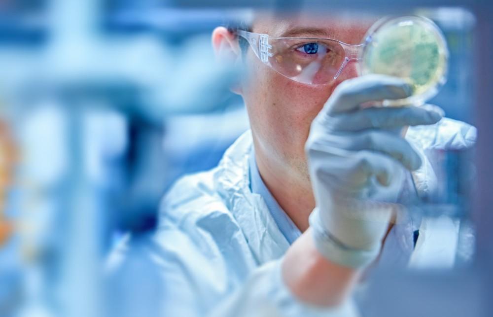 Lab technician at Thermo Fisher Scientific