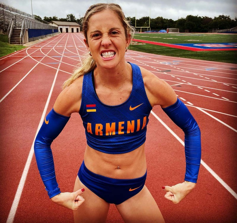 Allison Halverson may change events — from the heptathlon to the 400-meter hurdles.