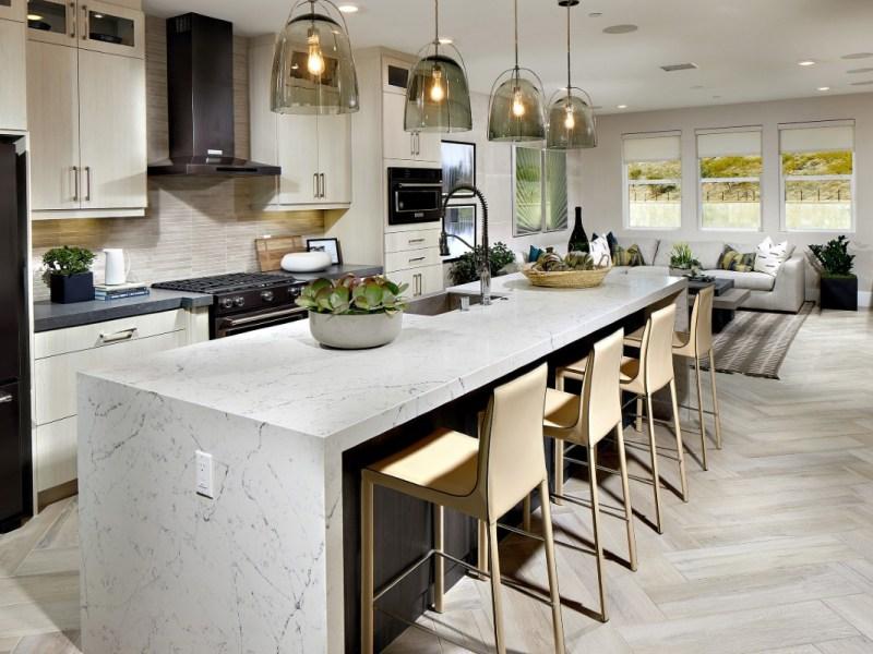 A model kitchen in Avella