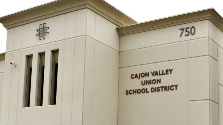 Cajon Valley Union School District offices