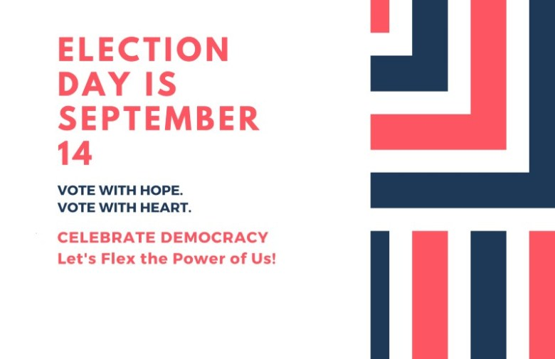 Election Day flyer
