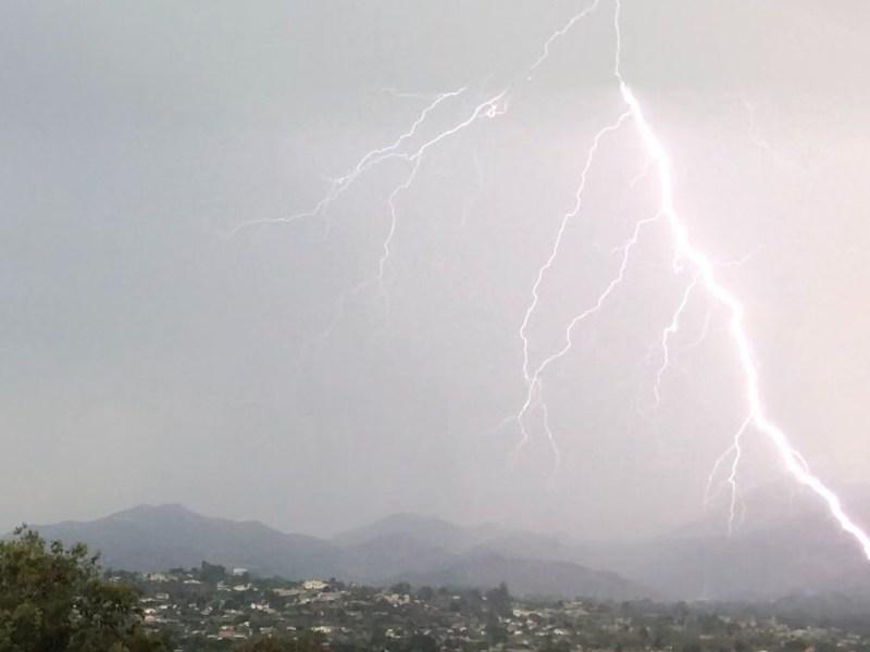 Lightning over Poway