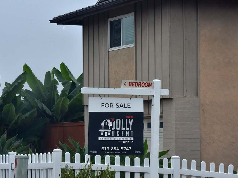 House is for sale in San Carlos area. Photo by Chris Stone