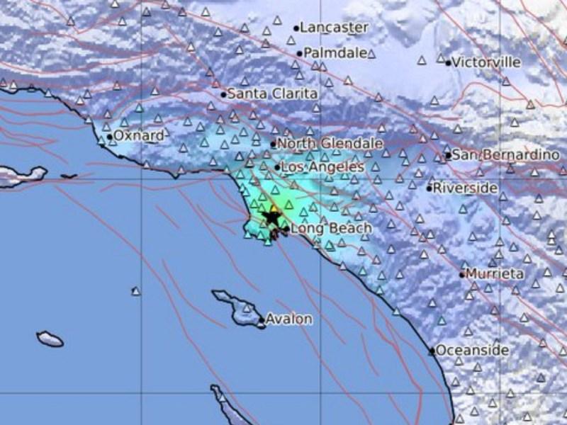 Quake USGS Los Angeles