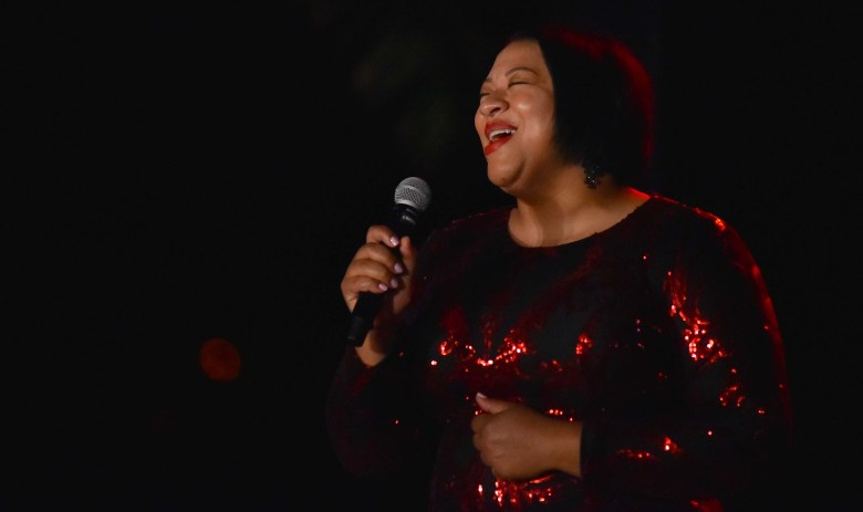 Opera singer Candace Bogan delighted the audience at the gala. Photo by Chris Stone