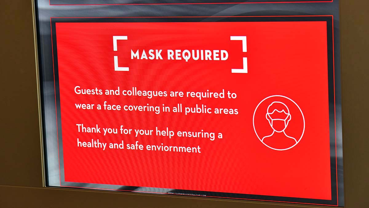 Hotel mask rules were mostly ignored at state GOP convention.
