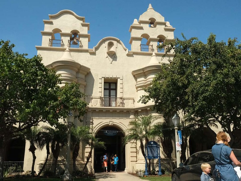 The Mingei Museum in Balboa Parks reopens after a three-year renovation. Photo by Chris Stone