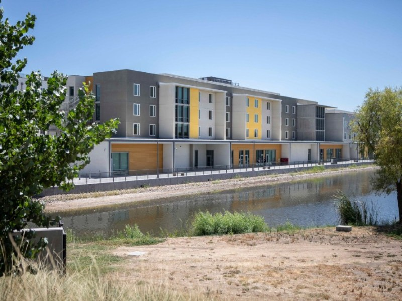 New student housing at UC Merced
