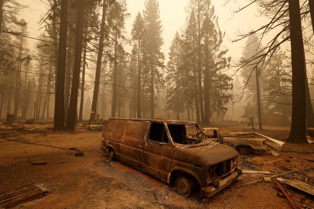 Devastation from Dixie Fire