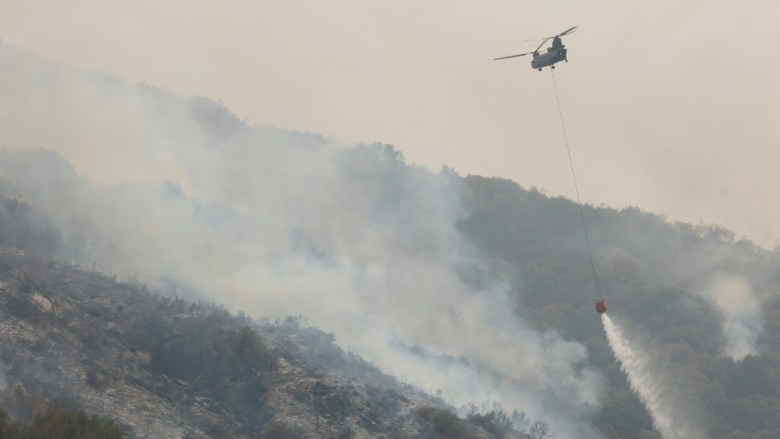 KNP Complex Fire