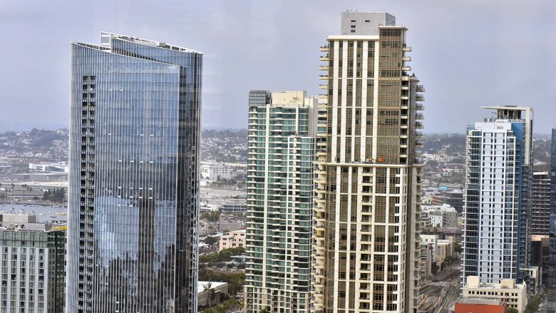 Downtown San Diego. Photo by Chris Stone