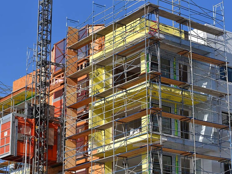 Apartment construction in San Diego. Photo by Chris Stone