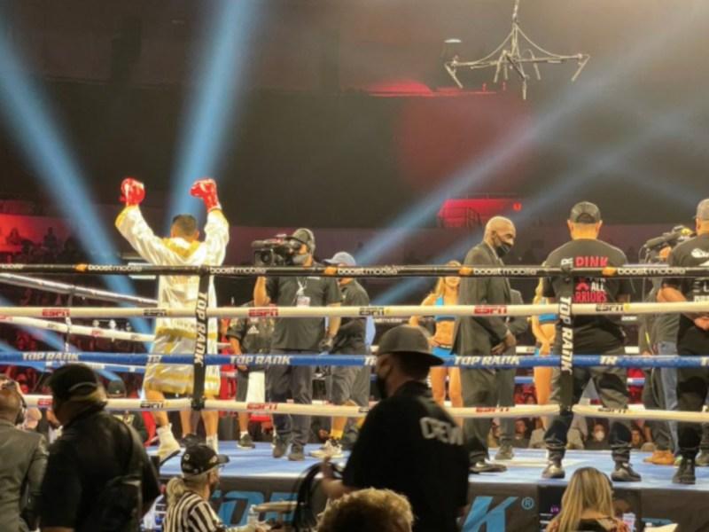 Boxing Pechanga Arena