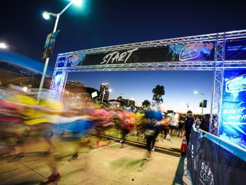 Marathons running