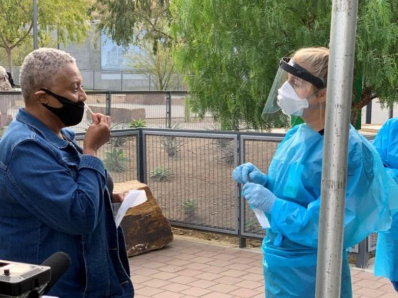 COVID-19 pandemic testing