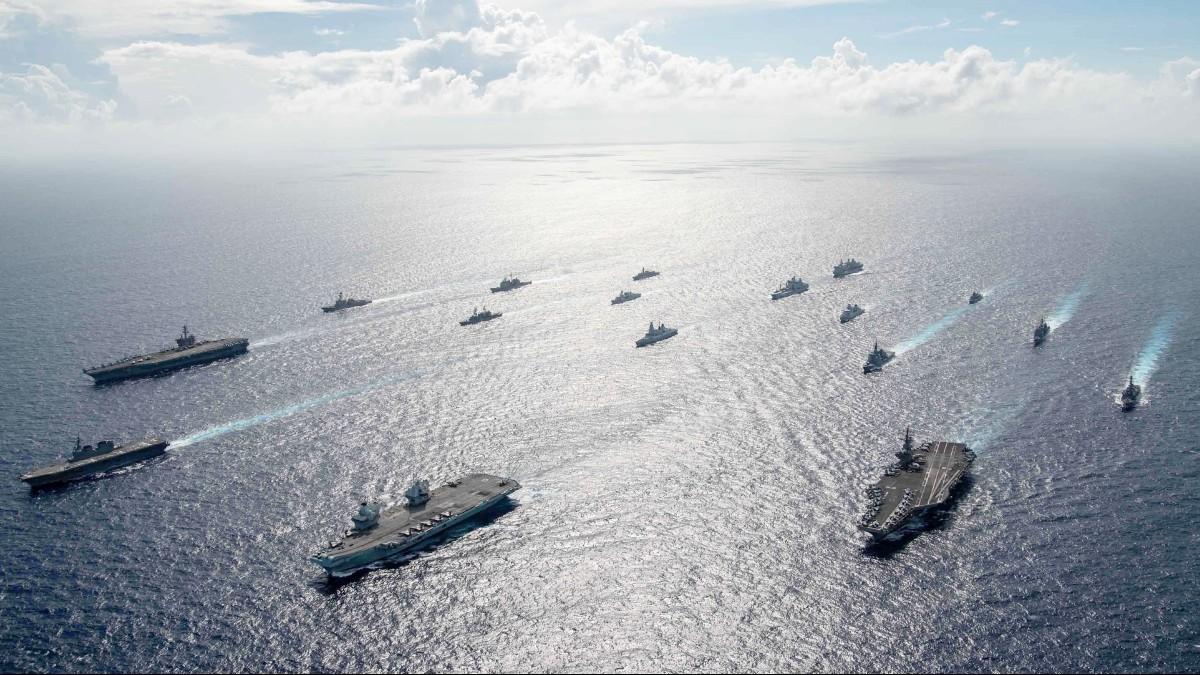 International force in Philippine Sea