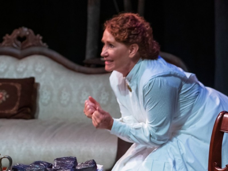 """Scene from """"The Belle of Amherst"""""""