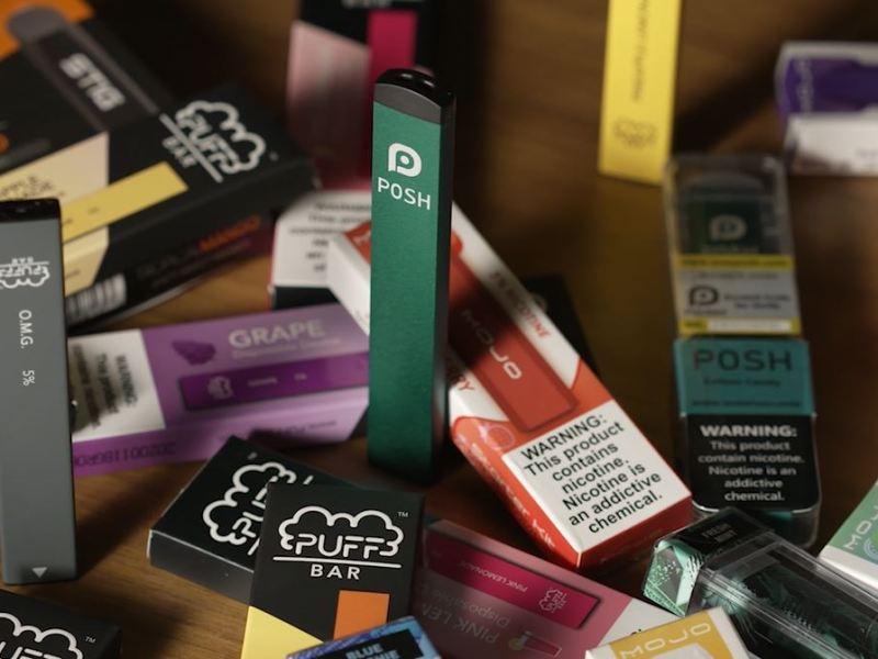 Flavored e-cigarettes