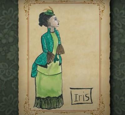 Iris in the play