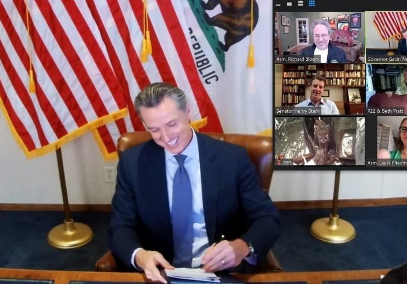 Gov. Gavin Newsom signs bill