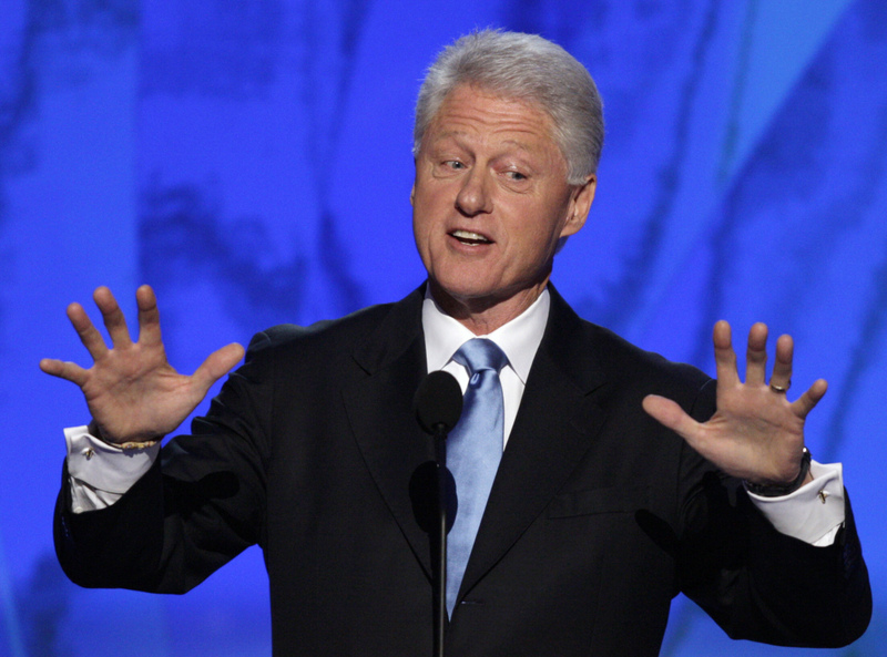 Aint no party like a Bill Clinton Party cause a Bill Clinton Party dont stop...
