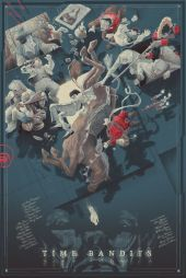 Time Bandits Mondo 5 color screenprint