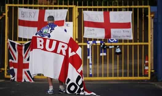 Bury expelled from Football League after takeover talks collapse