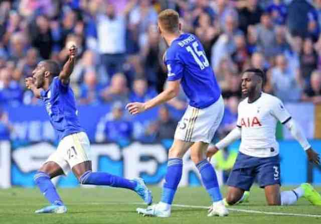 Leicester 2-1 Tottenham: Foxes mount stunning fightback as Spurs stung by VAR controversy