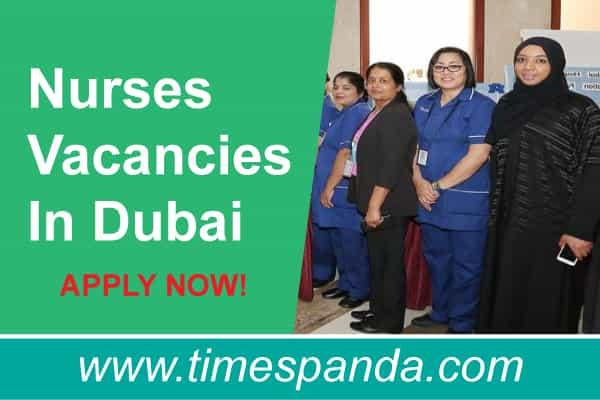 Nurses Vacancies In Dubai