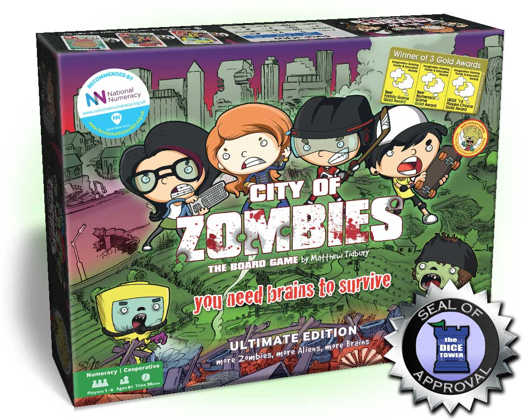 The City of Zombies Board game