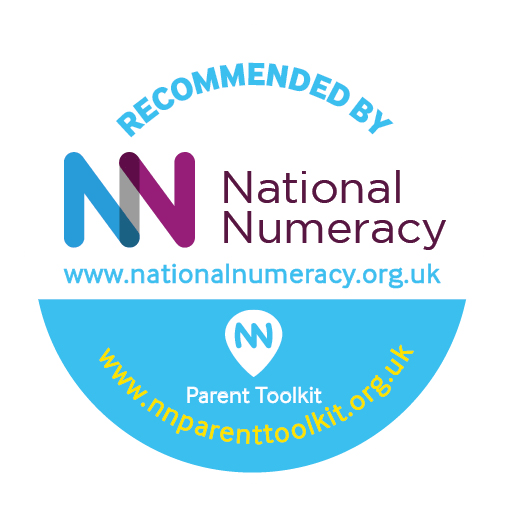 Times Square Maths Game is recommend by National Numeracy badge