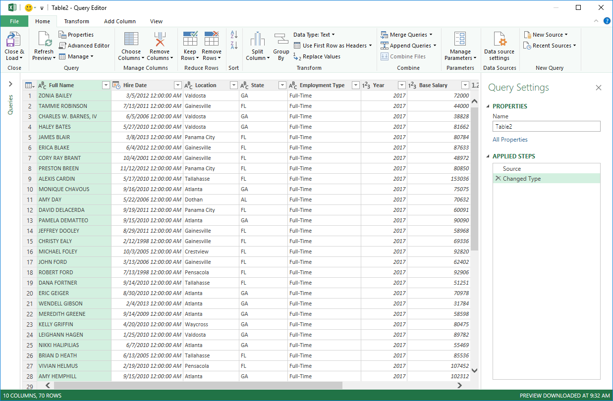 Consolidate Data From Multiple Worksheets In A Single
