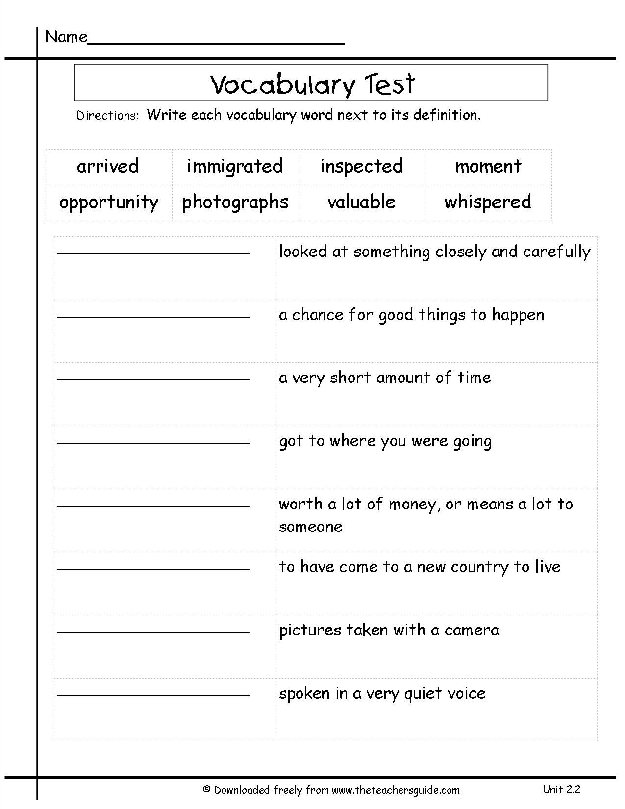 Multiple Meaning Word Worksheets 3rd Grade