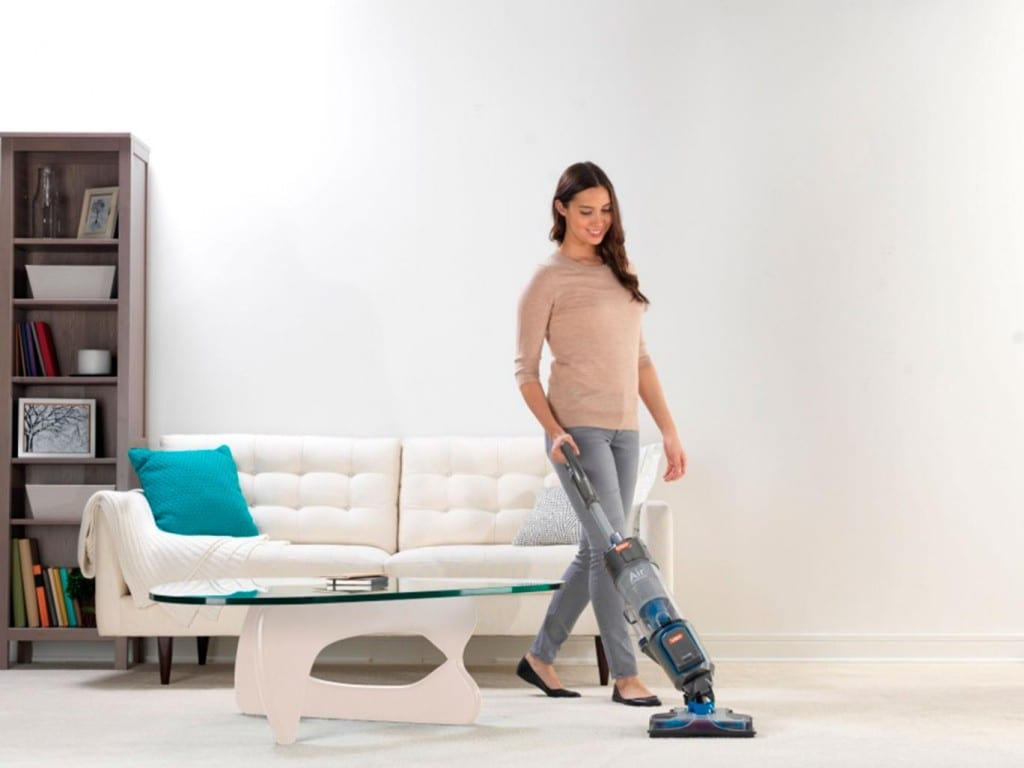 girl Vacuuming