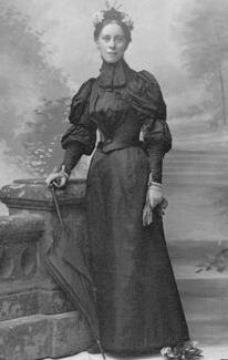 Mary Kingsley, African explorer, ca. 1890