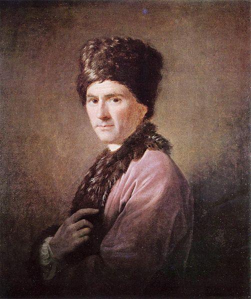 Jean-Jacques Rousseau, Allan Ramsay, 1766