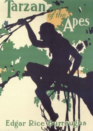 Tarzan of the Apes (Cover), Edgar Rice Burroughs, 1912