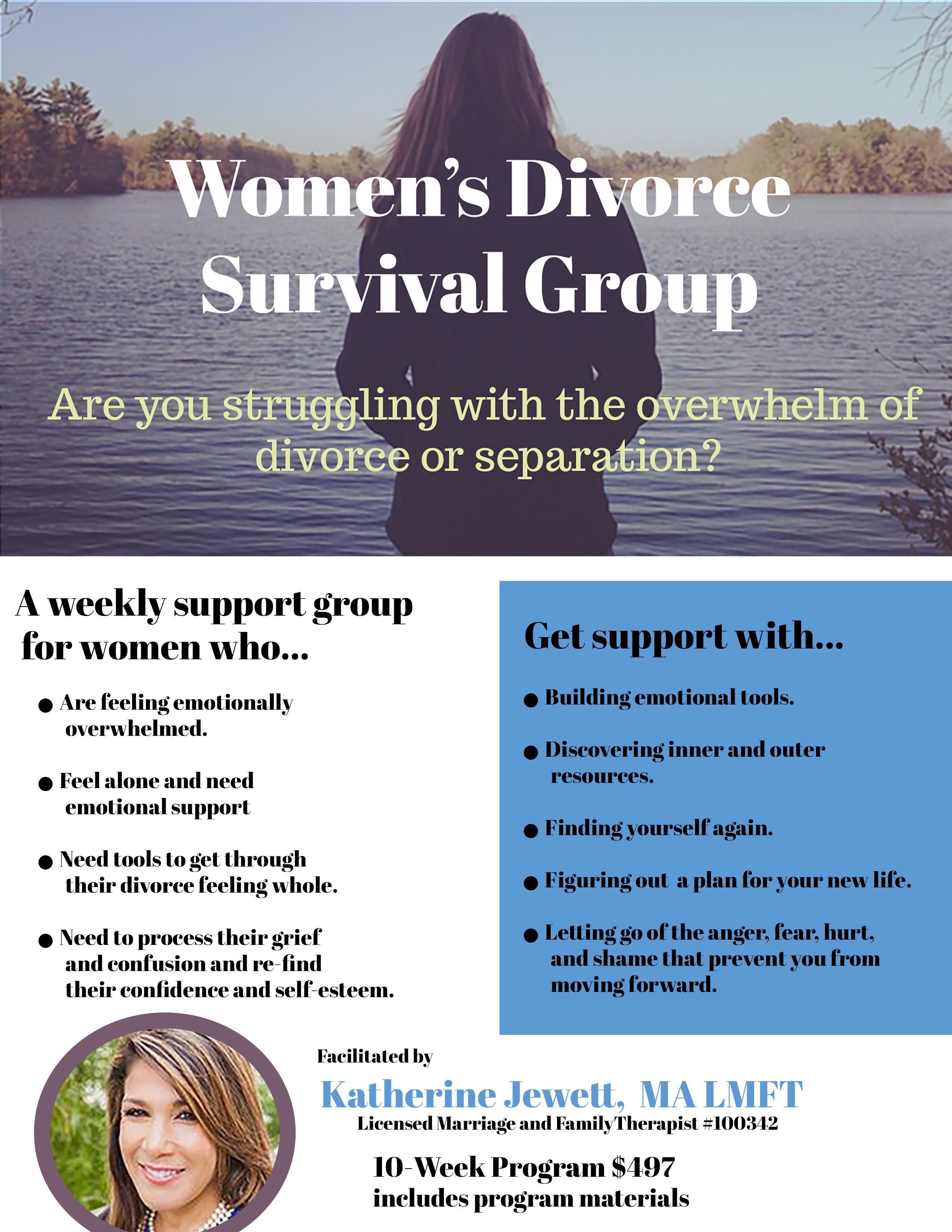 Women S Divorce Survival Group