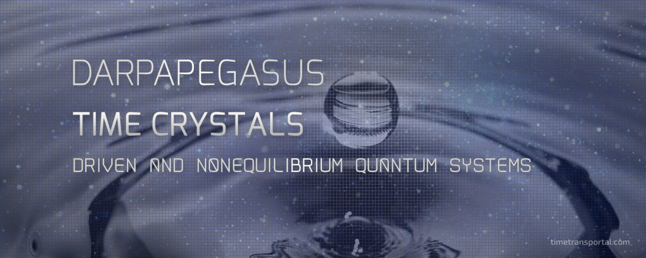 Time Crystals - Driven and Nonequilibrium Quantum Systems