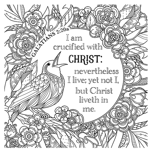 Galatians bible study starts today bible study, love one another coloring page