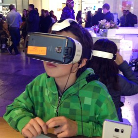Children love VR!