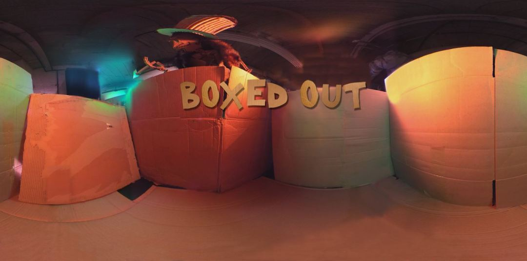 Boxed Out: a cinematic VR experience