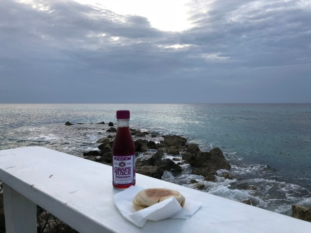 Kiddush in Jamaica.