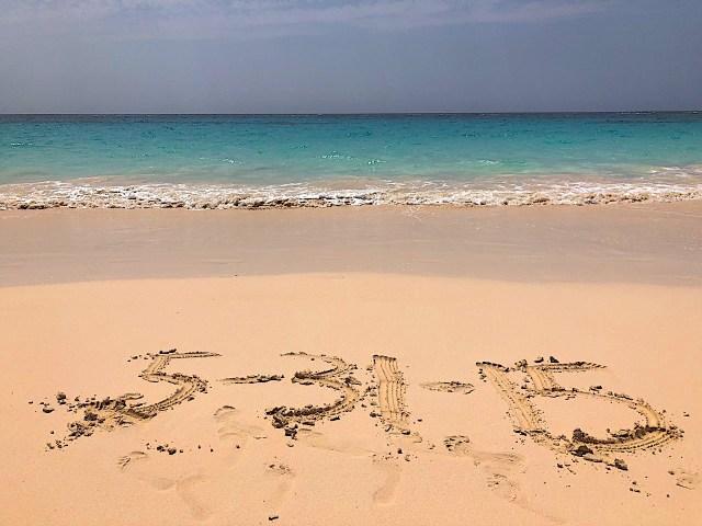 Elbow Beach in Bermuda.