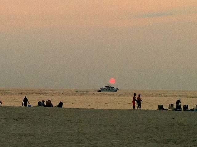 NJ sunset